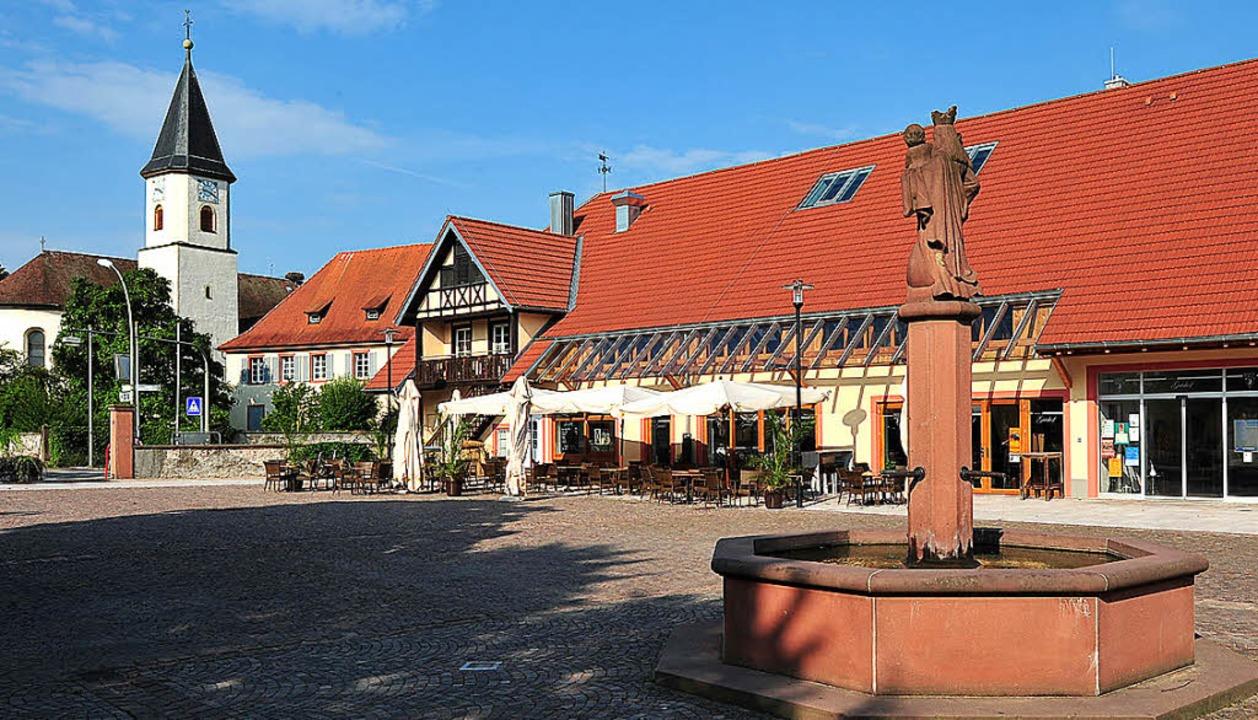 Sichtachse Gutshof-Kirche    Foto: Gemeinde