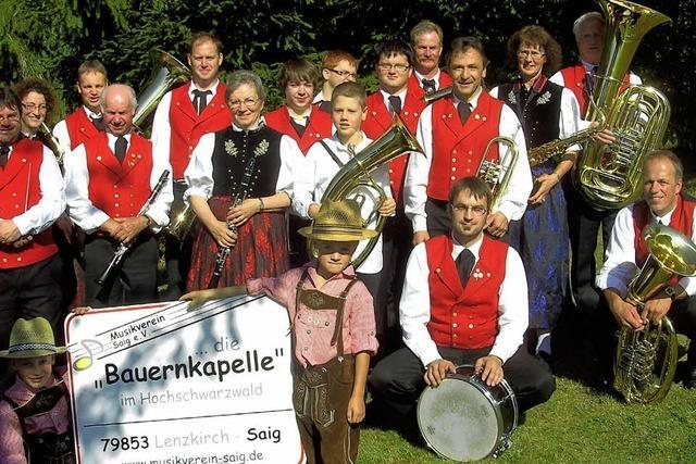 Waldfest des Musikvereins Titisee-Jostal