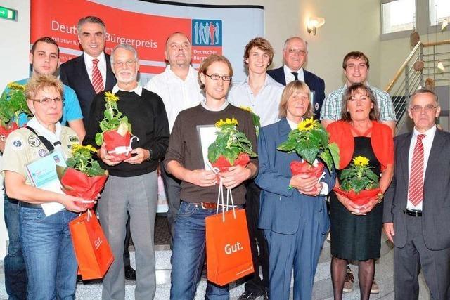 Bürgerpreis der Sparkasse Staufen-Breisach verliehen