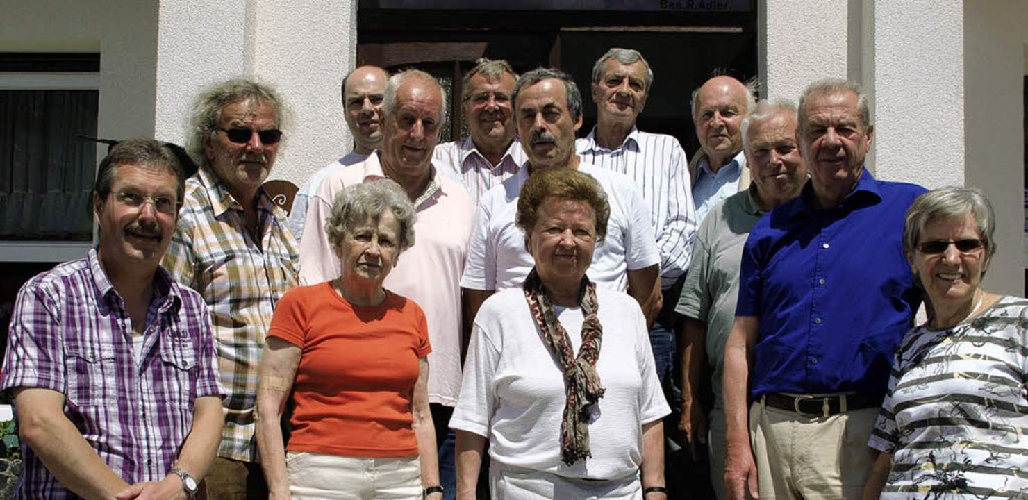 Treffen der ehemaligen Tischtennisspieler.     Foto: Daniele Schüle