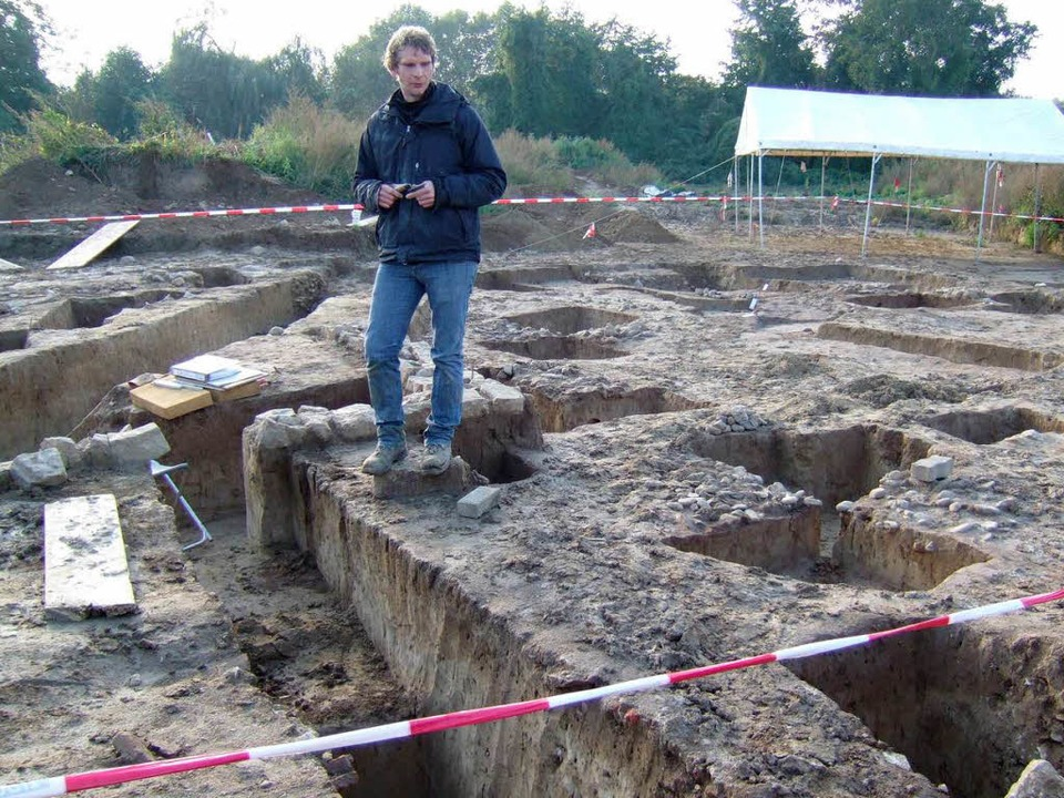 Die archäologischen Grabungen am Kurga...g der Uni Freiburg fortgeführt werden.  | Foto: Susanne Müller
