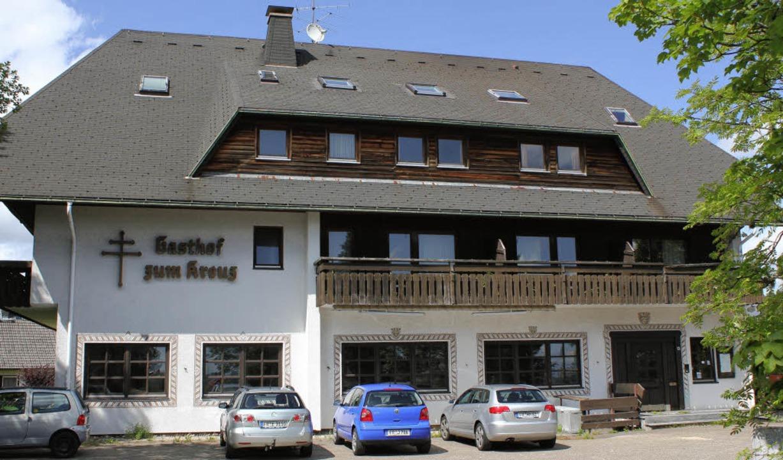 """Die Gemeinde  will das neue """"Kreuz""""  erwerben und das Haus abreißen.    Foto: Gert Brichta"""