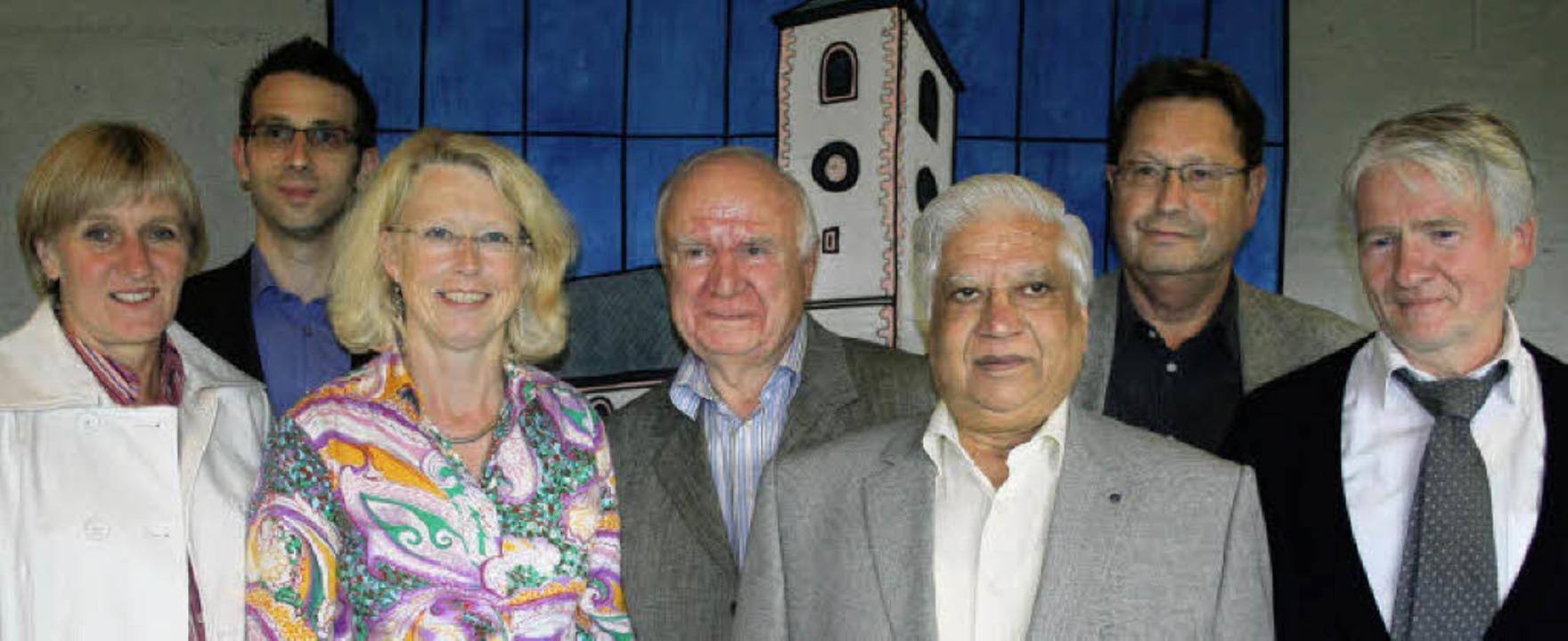 Der Vorstand des neu gegründeten &#822... Joachim Hacker und Herbert Landwehr.     Foto: Dieter Maurer