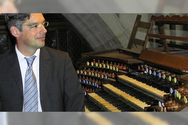 Schopfheimer Orgelsommer mit Tobias Horn