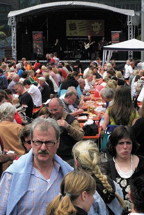 Willma rechnet  auch in diesem Jahr wi...len Gästen an ihrem Geburtstagsfest.    | Foto: BECK