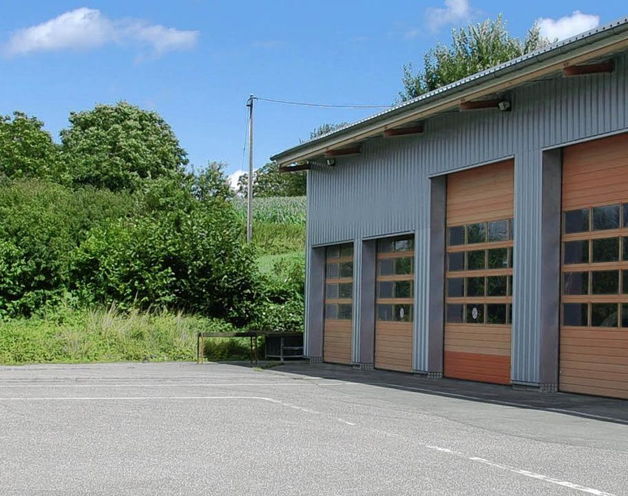 Neben dem Feuerwehrheim entsteht das Haus der Musik.     Foto: Frey