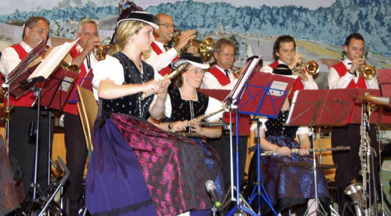 Sommerkonzert der Trachtenkapelle Heuweiler  | Foto: Andrea Steinhart