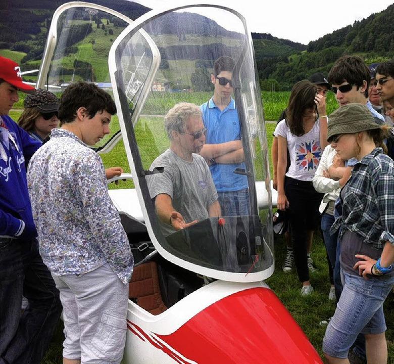 Französische Jugendliche waren  auf de...zu Gast und bildeten sich dort  fort.     Foto: privat