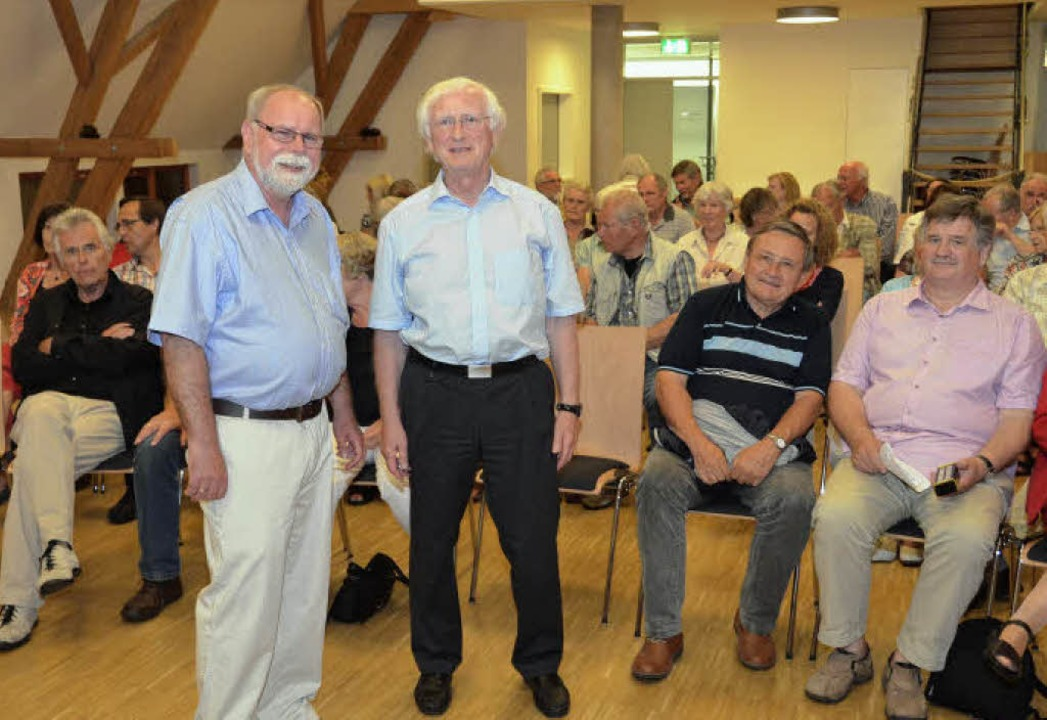 Stephan Kaltwasser (vorne links) vom H... frühe Mittelalter gewonnen zu haben.   | Foto: manfred frietsch