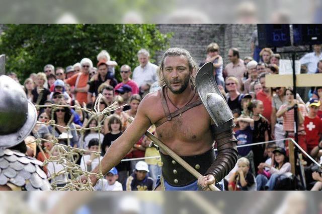 Aufgepasst, die Römer kommen
