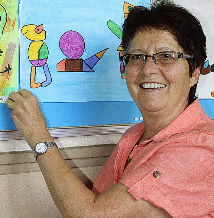 Bildende Kunst und textiles Werken hab... Schränke in der Talschule ausräumen.     Foto: Barbara Schmidt