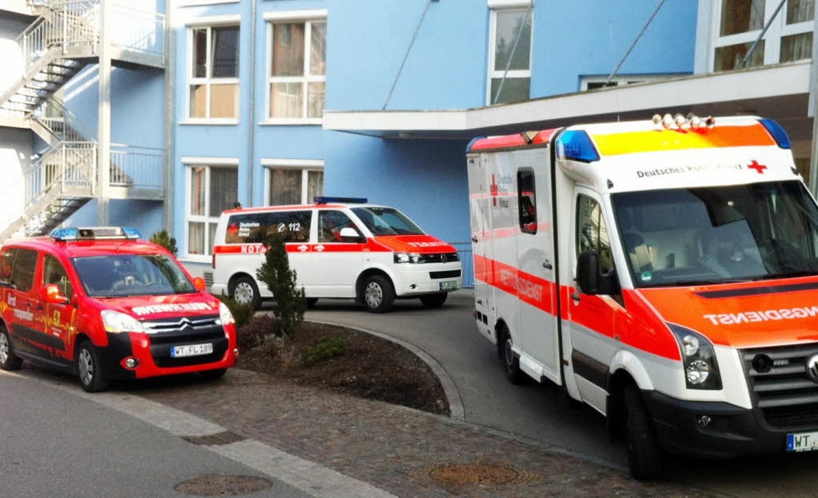 Immer mit im Einsatz: die First Responder Laufenburg  | Foto: feuerwehr