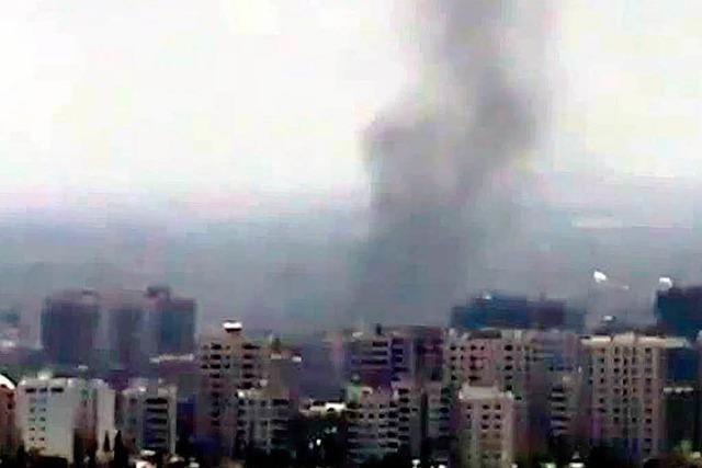 Bombenanschlag in Damaskus: Drei Regimegrößen sterben