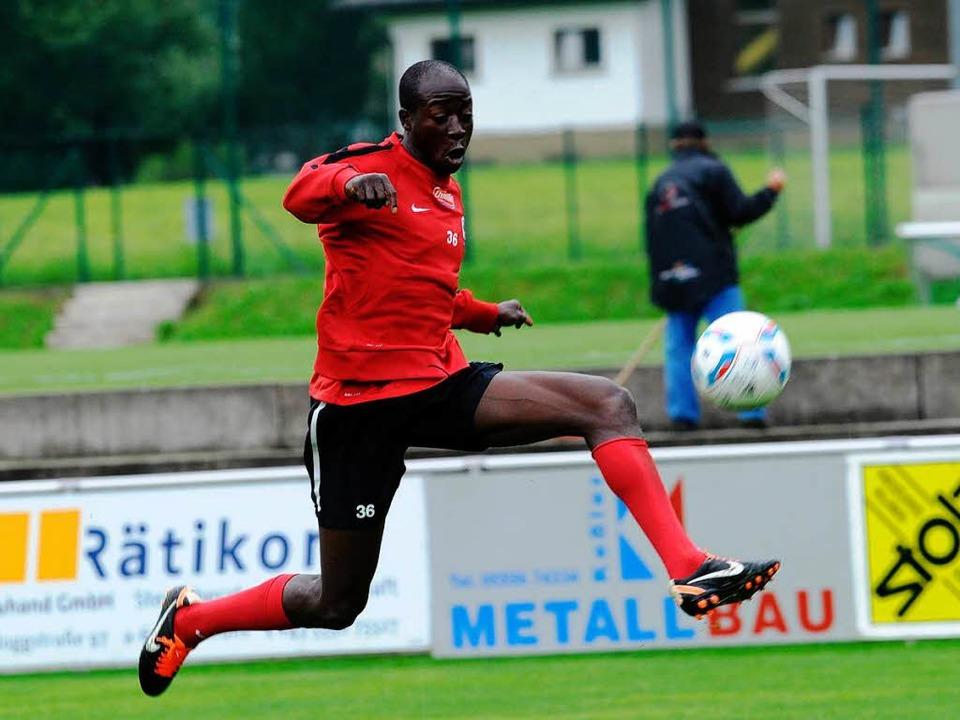 Garra Dembélé: Wird er den SC Freiburg bald verlassen?    Foto: schön