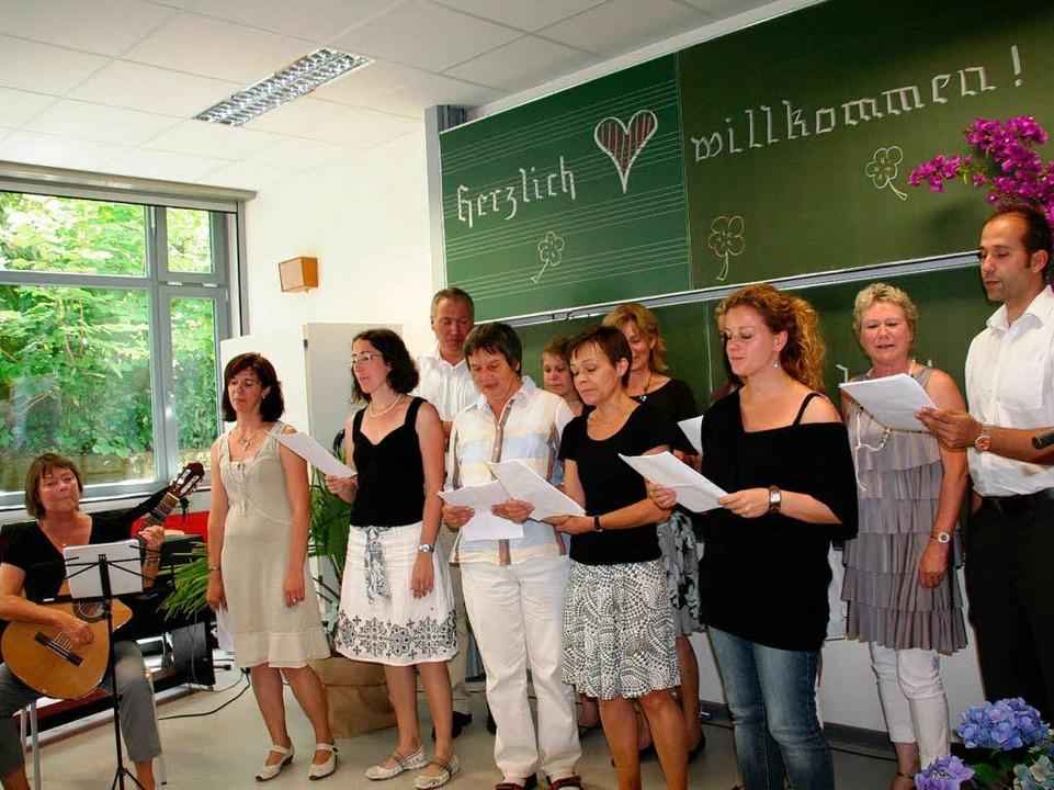 """""""Schule aus für Reinhold F.&#822...n und Kollegen der Grundschule Fahrnau    Foto: Marlies Jung-Knoblich"""