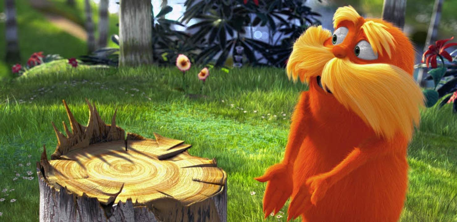 Ein früher Naturschützer: der Lorax des Dr. Seuss   | Foto: upi