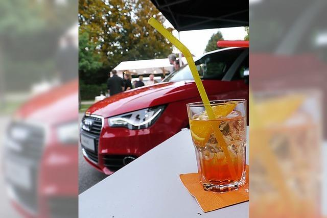Sommerparty beim Autohaus