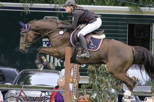 Große Erfolge einer jungen Reiterin