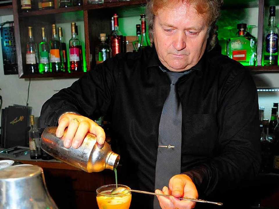 Das Handwerk des Barkeepers lernte Hassenzahl in Osterberlin.  | Foto: Thomas Kunz