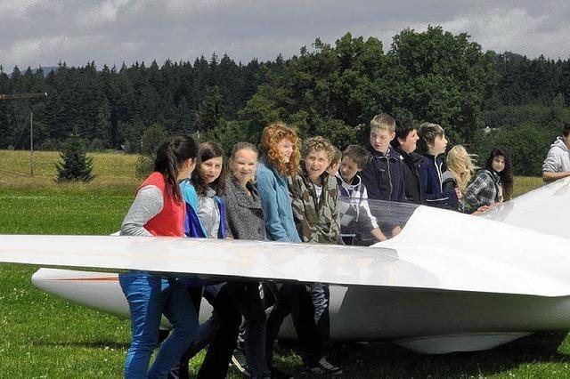 ENTER: Zwei Klassen aus Rickenbach heben ab