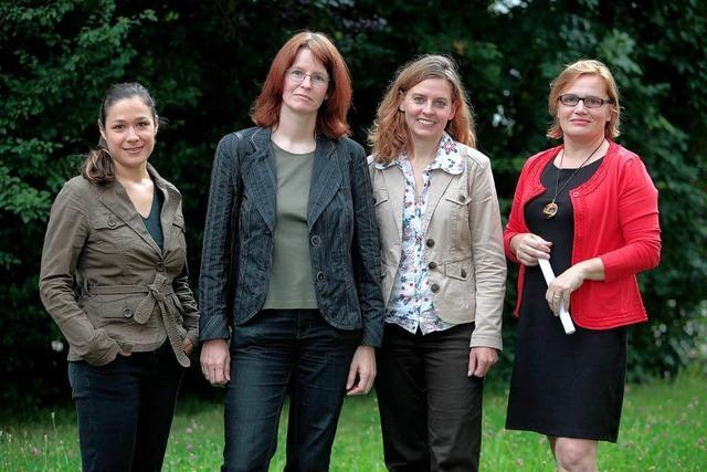 Vier Frauen wollen für die Grünen in den Bundestag