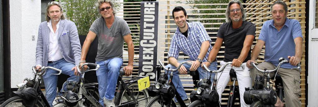 fahrrad mit hilfsmotor velosolex rennen in offenburg. Black Bedroom Furniture Sets. Home Design Ideas
