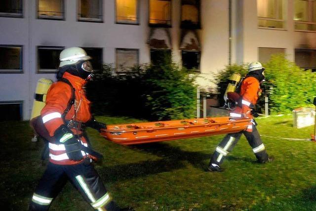Frau stirbt bei Brand in Ettenheimer Klinik – Ursache unklar