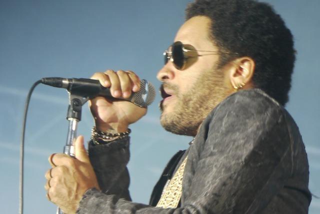 Wie war's bei… Lenny Kravitz beim Stimmen-Festival?