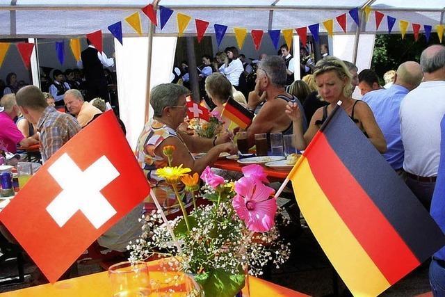 Deutsch-schweizerischen Freundschaftswoche in Häusern