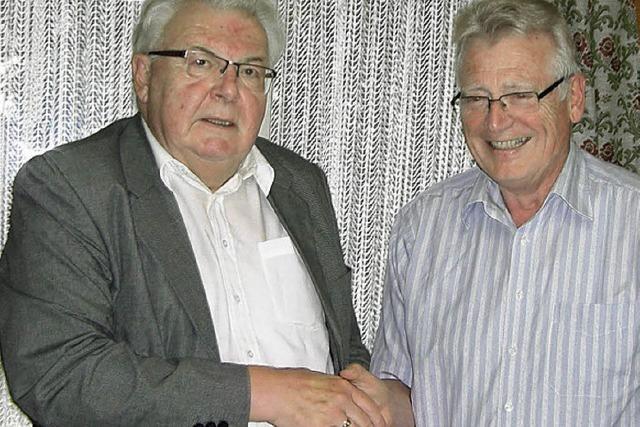 Karl-Heinz Vogt verabschiedet