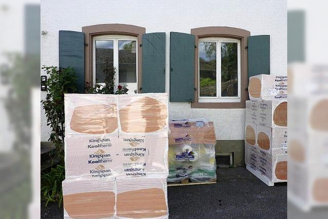 Pfarrhaus wird saniert - Pfarrbüro vorübergehend im Gemeindehaus