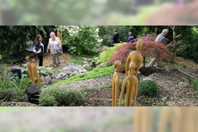 Natur und Kunst – im Garten vereint