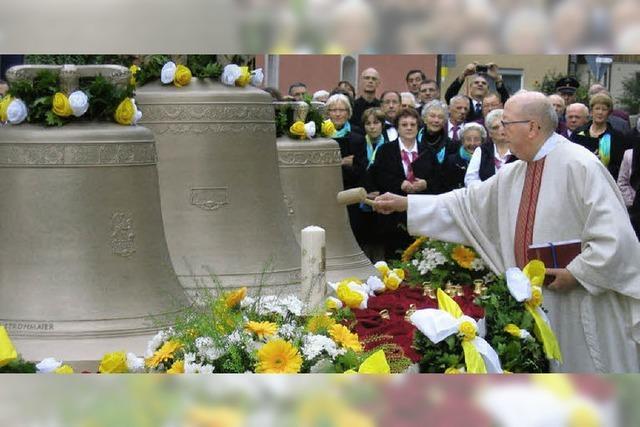 Drei neue Glocken für Pfarrkirche St. Michael: Schöne Töne für den ganzen Ort