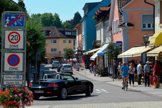 Gemeinderat lehnt Fußgängerzone in der Bahnhofstraße ab