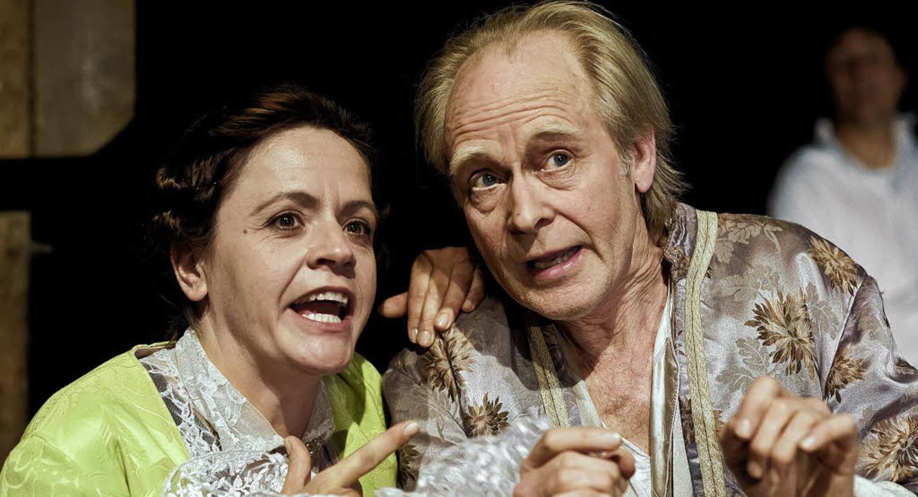 Casanova mal zwei: Simone Rosa Ott und Ullo von Peinen   | Foto: Martin Koswig