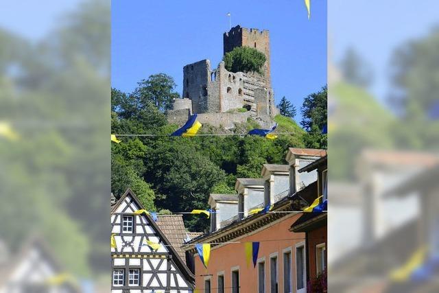 Aufgepasst: Die Burgwache ist streng