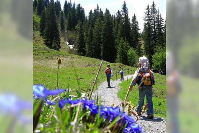 Kinder in den Schweizer Alpen: Mit Zwergen in den Bergen