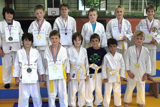 Schulmeister im Judo