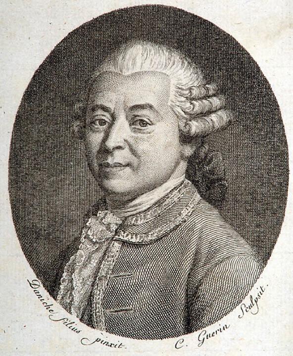 Andreas Silbermann, geboren 1678 in Sachsen, gestorben 1734 in Straßburg.     Foto: PR