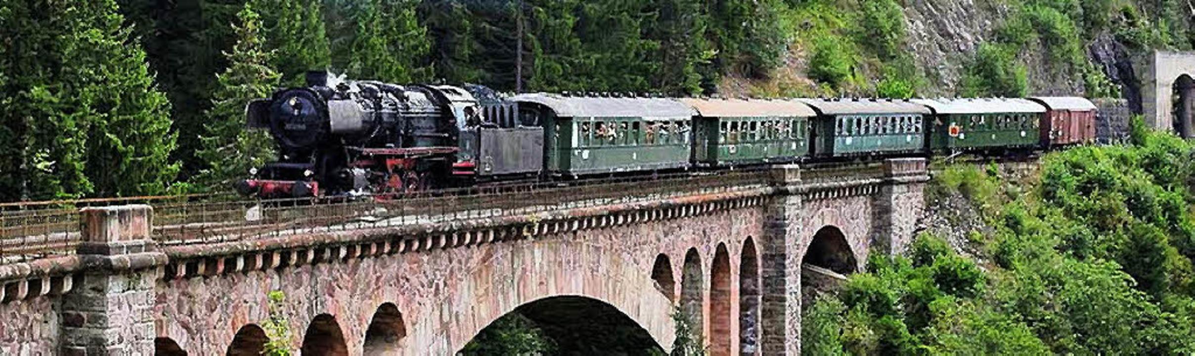 Die IG 3-Seenbahn startet am Wochenend...chbrücke ist ein beliebtes Fotomotiv.   | Foto: Jörg Sauter