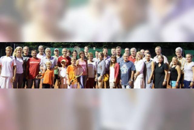 Stadtmeister im Tennis ermittelt