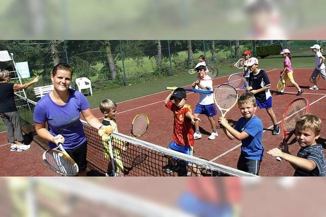 Tennisprojekt kam bestens an
