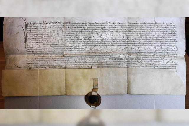 Ein Dokument der Stadtgeschichte