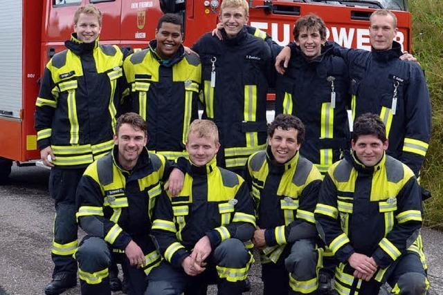 Feuerwehrgruppe versilbert ihr Können