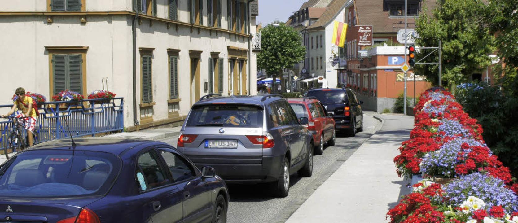 Von der Elzbrücke  soll die Lückenampe...ichtung Innenstadt verschoben werden.   | Foto: Ilona Hüge