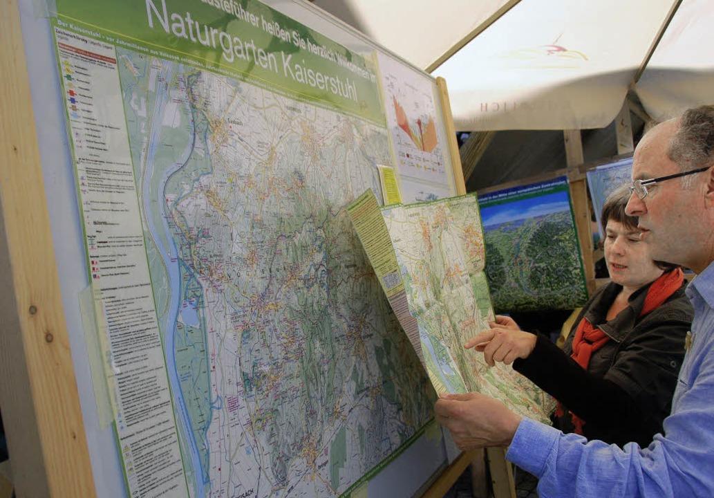 Infomaterial für den Naturgarten Kaise... neuen Gesellschaft verstärkt werden.   | Foto: pressebüro freiburg