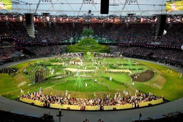 Eröffnungsfeier: London lässt es zum Olympia-Auftakt krachen