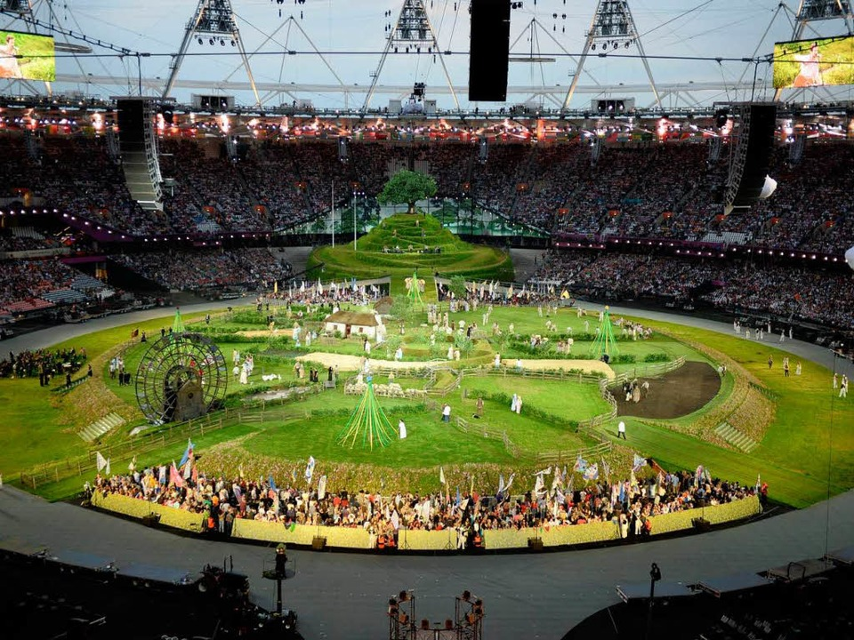 Eroffnungsfeier London Lasst Es Zum Olympia Auftakt Krachen Olympische Spiele Badische Zeitung