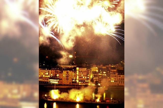 Feuerwerk zum Schweizer Nationalfeiertag