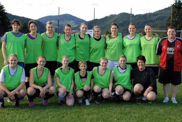 Damen-Team vor Saisonstart